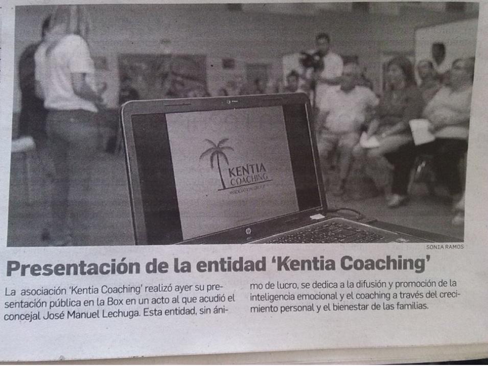 Kentia Coaching Noticias Pss Hablan de Nosotros en el Diario de Cádiz